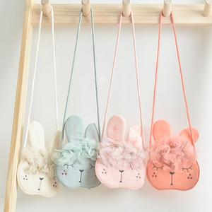 Kinder-Mädchen-Kind-Münzen-Geldbeutel-Beutel Hobos Mini kleines netten Baumwollgewebe-Cartoon-Tier Korean Zubehör Großhandel Geschenk