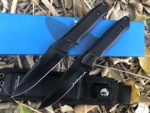Kelebek 140BK kaplan av taktikleri düz bıçak Pocket Knife Açık Survival Kamp Bıçak orijinal kutusu Hediye Bıçaklar bm940 943 bm176