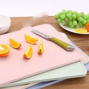 Paglia di grano Grinding tagliere Block Tagliere percolato Anti Slip Double Sided Tagliere Frutta Verdure l'attrezzo della cucina
