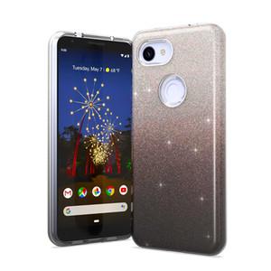 Vivo için IQ00 V15 Y51 Y55 Y53 1 Glitter Toz Darbeye Tampon Koruma Telefon Kılıfı Kapak İÇİNDE 3 Shining PRO