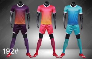 Football suit men's team training suit light board football shirt summer breathable quick dry moisture absorption sweat6765