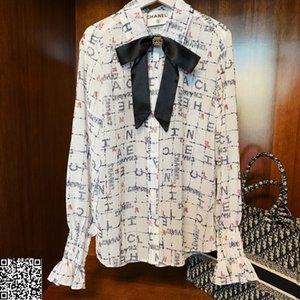 nouvelle arrivée blouse femmes revers occasionnels chemises femmes t-shirts manches longues tops 20191119-3r7567 # 55402