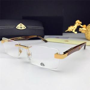Novos óculos moldura prescrição óculos Z107 sem moldura pernas de mola negócio óculos estilo fashion designer de óptica dos homens simples