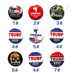 Trump 2020 Выборы Promotion Брошь Знак США Медаль президент Trump Медаль Tin Выборы Chest украшение Pins благосклонность партии подарки C103002