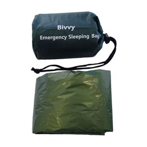 Emergency Sleeping Bag Lifesaving Blanket Bag Portable Nylon Camping with Heat Preservation Function for Camping Hiking