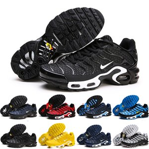 Nike Air Max Plus TN Nuovo tn più Kpu Tailwind 4 IV TN mens pattini correnti di sport chaussures formatori Designer shoes Blu Giallo Sneakers 40-47