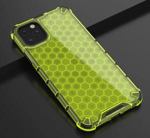 Para Iphone 11 PRO MAX 6.5 5.8 6.1 INCH X XS MAX XR 8 7 Plus 6 6S à prova de choque híbrido TPU + PC Hard Case Armour Futebol Telefone capa de pele de luxo