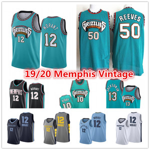 Vintage Memphis Ja 12 Morant Uomo