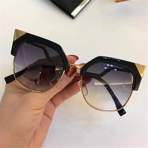 Lüks 0149 Güneş kadınlar marka Tasarımcısı büyüleyici kedi göz 0149 S moda gözlük En Kaliteli UV koruma güneş gözlüğü orijinal kutusu ile