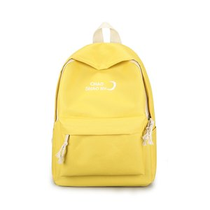 Женская Schoolbag Девочка средней школы колледжа Холст рюкзак Новый Досуг Дорожная сумка Компьютерные сумки