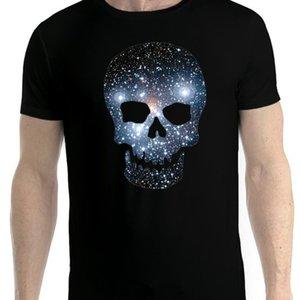 Space Skull Stars Galaxy Men T Shirt Xs 5xl Newstreetwear Funny Print Wholesale Discount Hip Tope Mans T Shirt Tops Tees Hot Sale Men