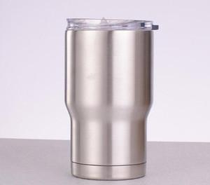 Aço inoxidável Tumbler para o café quente e bebidas frias personalizados engraçados copos com tampa de vácuo caneca de viagem Duplas 14 onças