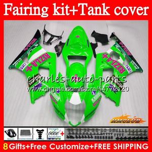 Body + Tank-OEM für SUZUKI RIZLA grün GSXR1000 GSXR1000 GSX R1000 K3 03 87HC.152 GSXR1000 Karosserie GSXR 1000 2003 2004 03 04 Voll Verkleidungs