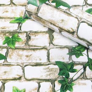 Новые ПВХ самоклеющаяся оптовой номер наклейки сельской Европы спальня Общежитие стены спальни бумага мебель стол ремонт шкаф стены