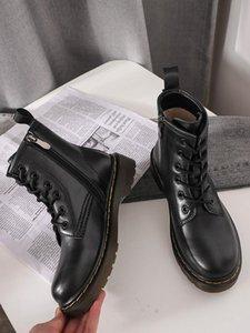 El nuevo diseñador de 2019 Martin Dr Martins mujer martin doc arranque Aston zapatos para hombre 1460 botas de los hombres de las zapatillas de deporte de invierno Chaussures trabajan Motor Suela de cuero