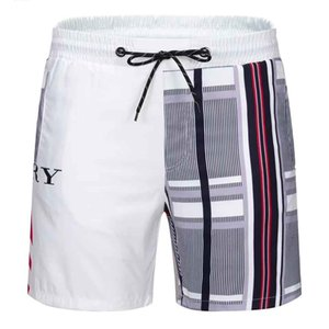 diseñador de lujo de los hombres pone en cortocircuito traje de baño de la playa Junta ocasional del verano de las mujeres flojas Hombres Pantalones cortos Ocio Liner Forro