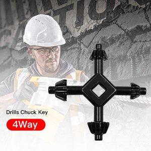 Bohrer Chuck Key 4 Way Bohrer Chucks Universal Kombinations-Handwerkzeug-Zubehör 4 in 1 Fit Drill