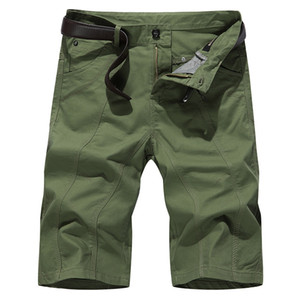 Cargo Shorts Men New 2019 Summer Casual Pocket Shorts Masculino Joggers Overall Short Trousers weatpants Plus Size 42