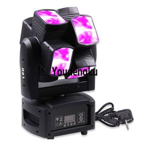 4 шт Pro партия свет водить Moving Head Beam 8X10W 4-в-1 RGBW бесконечный луч движется голова светодиодные фонари