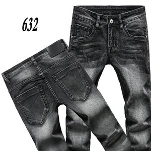 ARM777 666ANI AJ-JEANS spring autumn Outdoor Pants Thick pant trousers Stretch jeans cotton business casual trousers slacks SIZE:28-40