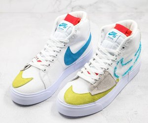 2020 New Nike SB Zoom Blazer Low Mid Hommes Femmes bord Chaussures de course Designer Blazers Skateboard Sneakers Casual des Chaussures Sport Chaussures