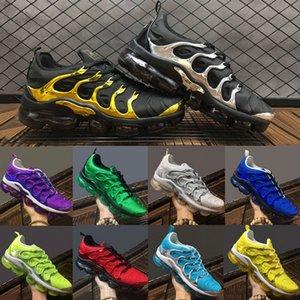 2020 Vapors TN Plus Midnight Navy Black Gold silver Volt tns Женские кроссовки на воздушной подушке дизайнерские спортивные кроссовки мужские кроссовки Maxes