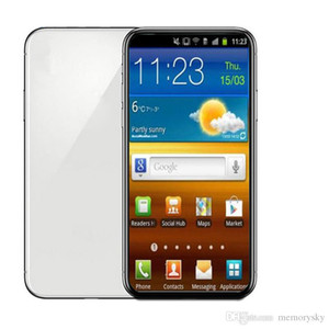 """Goophone ES20 Além disso, 20 + 20U MTK6580 QuadCore 1GBRAM 8GBROM 6.5"""" 8MP Bluetooth4.0 3G WCDMA caixa selada Falso 5G telefone apresentado"""