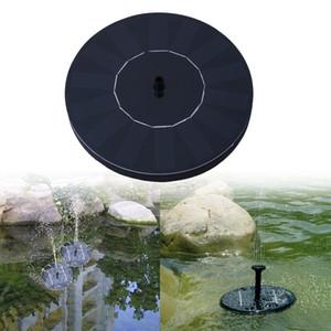 Panel solar jardín de la bomba de agua de riego al aire libre piscina Estanque Bombas Kit para la fuente de envío de la gota C19041901