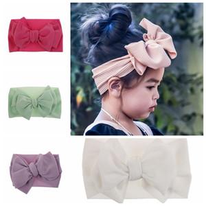 Große Bogen-Babys Stirnband Kinder nehmen photoes Haarzusatz Kinder schöne Haarband 10 Farben bieten wählen