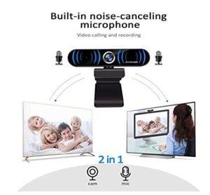 câmera conferência T1 MF Webcam Video / Chamada de vídeo / Live stream 1080p usb 2.0
