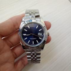 роскошные Topselling высокое качество наручные часы Datejust 41mm 126331 нержавеющая сталь твердые Застежка механизм с автоподзаводом 2813 механические часы мужчины меня