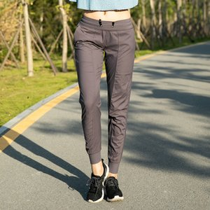 2020 Streetwear Style Trackpants New Yoga Pants with Pocket Loose-legged Trousers Quick-drying Elastic Sports Casual Pants
