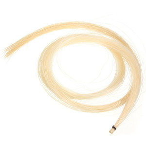 Hank 31-31.5 Inch Genuine Mongolian Horse Hair for Violin, Viola, Cello, Bass Bow,Photo Color