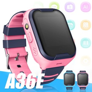 A36E Children Smart Watch 4g Net Wifi Tracker Video Call Watch Baby Smartwatches with GPS Monitor Watch with Retail Box