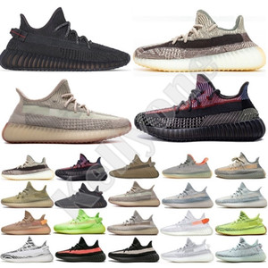 Adidas yezzys yezzy 350 v2 boost sply New Kanye Sneakers Zyon Linen Grey Gum Yeshaya Reflective Desert Sage Tail Light Cinder Yecheil Black Static Men Trainers Running Shoes US13