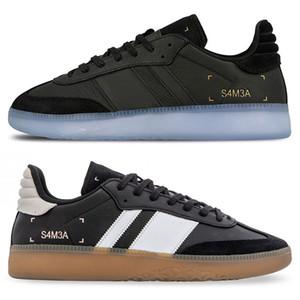 2020 새로운 삼바 RM 마이애미 브라운 블랙 클라우드 화이트 스니커즈 남성 여성 오렌지 녹색 스케이트 보드 신발 크기 36-44