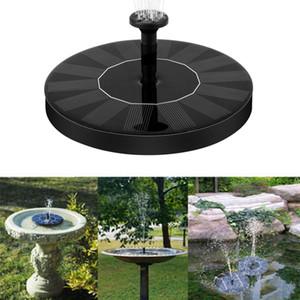 Regar las plantas de energía solar de la fuente de alimentación de la bomba fuentes y Energía Kit de panel solar para jardín ornamental baño del pájaro estanque solar