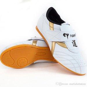 wholesale martial arts rubber sole unisex karate shoes kids and adults training full size 27-44 taekwondo shoes