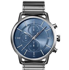 clásico de la moda envío libre de los hombres del reloj de pulsera - gris - Acero inoxidable PVD gris 1513574