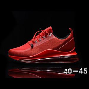 새로운 최대 720 실행 유틸리티 운동화 방수 가죽 (72C) 전체 손바닥 에어 쿠션 남성과 여성 야외 스포츠 캐주얼 신발 반응 프로스트
