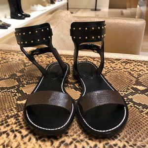Sandali da donna Scarpe diapositive estate modo delle signore Sandali piatti classici della spiaggia del pistone Flip Flop Size 35-42