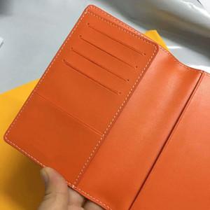 GY Paßabdeckung Top Qualität Mens-Frauen-Mappe Houndstooth Kartenhalter echte Leder-Frauen-Geldbeutel-Abdeckungen für Reisepässe mit Box Staubbeutel