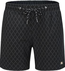 2020 Nouveau mode Shorts Plate Pure Color Casual Shorts Summer Style Hommes Beach Sports de Natation homme Pantalons # 11