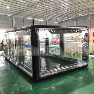 무료 배송 무료 펌프 풍선 자동차 텐트 5x2.5x2 메터 풍선 자동차 쇼케이스 실내 또는 야외 뜨거운 판매 자동차 커버 / 캡슐 / 차고