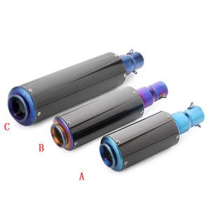 Universal-Carbon-Faser-Motorrad-Roller-Modified Auspuff-Rohr Für Hayabusa GSX R1300 S1000 S1000F R600 R500