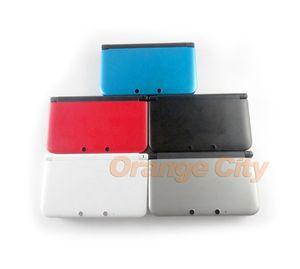전체 주택 쉘 돌아 가기 배터리 커버 케이스 키트 콘솔 케이스의 경우 3DS XL LL 3DSXL 3DSLL 중간 프레임 3DSXL