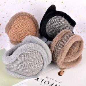 paraorecchie caldo inverno set di mens dell'edizione del han e donne indossano cuffie antirumore dopo la piegatura pacchetto orecchie caldo caldo paraorecchie