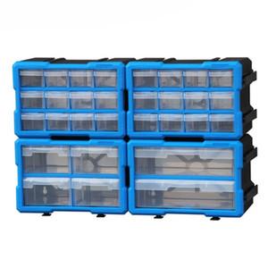 cassetta degli attrezzi a parete Parti Box Tool Box classificazione di Arca multi-griglia cassetto Tipo Building blocks caso vite componente