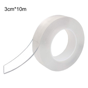Multifunctional -Free Tape Self-Adhesive Double-Sided Tape Adhesive Back Fixed For Office Home