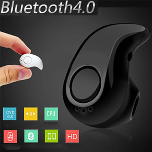 S530 Mini Wireless Bluetooth Headset BT4.1 Stereo for iPhone with Mic Stealth Earphone In-Ear Headphone Earbuds with Retail Box